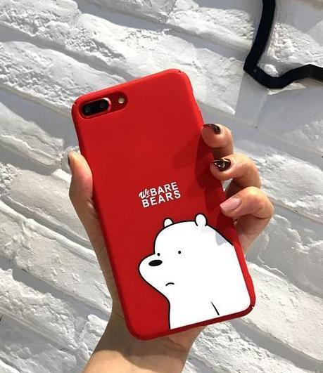 Red Ice Bear We Bare Bears Phone Case Pacific Bling