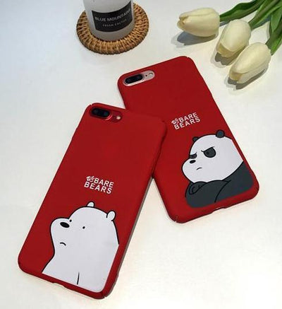 Red Panda We Bare Bears Phone Case Pacific Bling