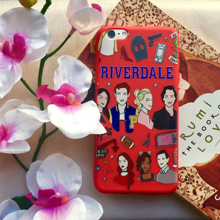 Red Team Riverdale Phone Case
