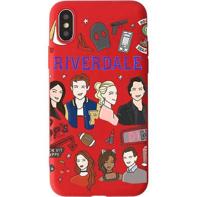 Red Team Riverdale Phone Case Pacific Bling