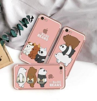 Signature Stack We Bare Bears Phone Case Pacific Bling