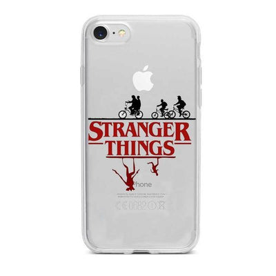 Stranger Things Clear Phone Case Pacific Bling