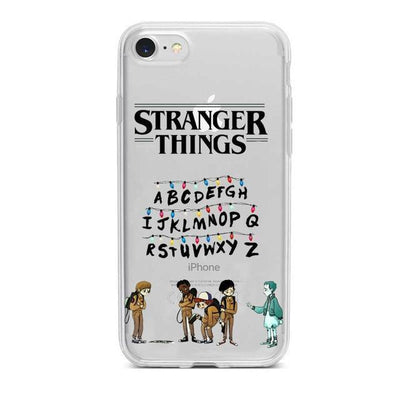 Stranger Things Clear Phone Cases Pacific Bling