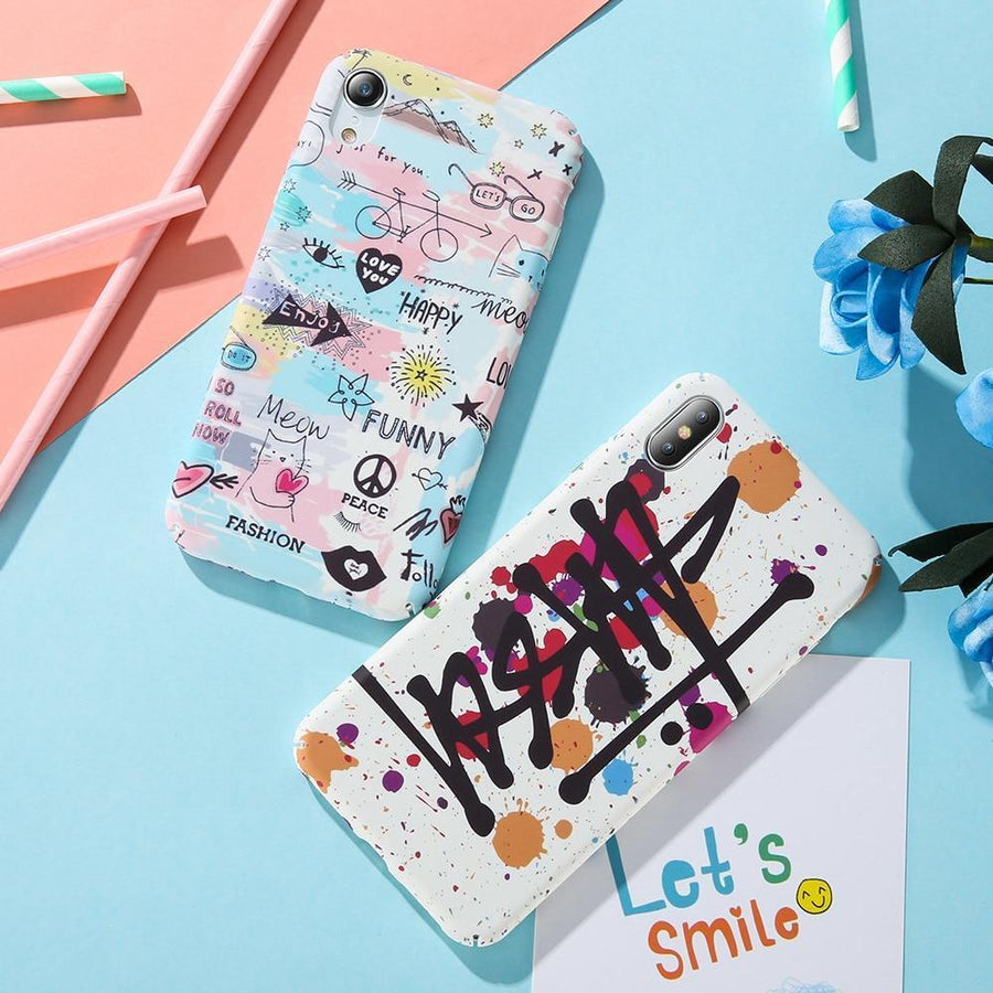 Stussy Artwork Pattern Phone Case