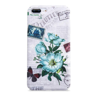 Summer Floral Flamingo Cactus iPhone Case Pacific Bling