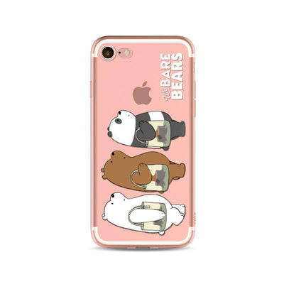 Tote Life We Bare Bears Phone Case Pacific Bling