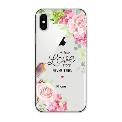 True Love Story Bouquet Cellphone Case Pacific Bling