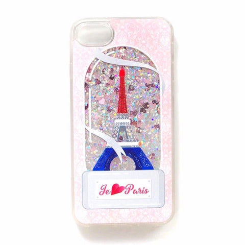 Unicorn Drinks Liquid Glitter iPhone Case | PARIS Pacific Bling
