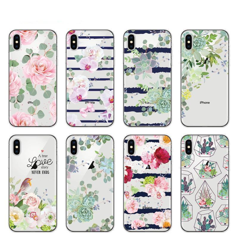 Vintage Floral Bird Pattern Cellphone Case