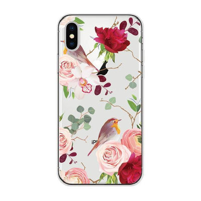 Vintage Floral Bird Pattern Cellphone Case Pacific Bling