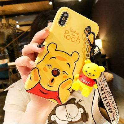 Winnie The Pooh Lanyard Phone Case Pacific Bling