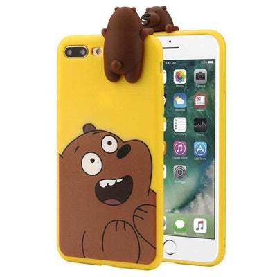 Yellow We Bare Bears 3D Phone Case Pacific Bling