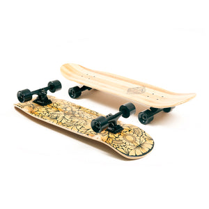 The Old School Board - Cruisy Boards | cruisy.xyz (Longboard - Cruiser Skateboard)