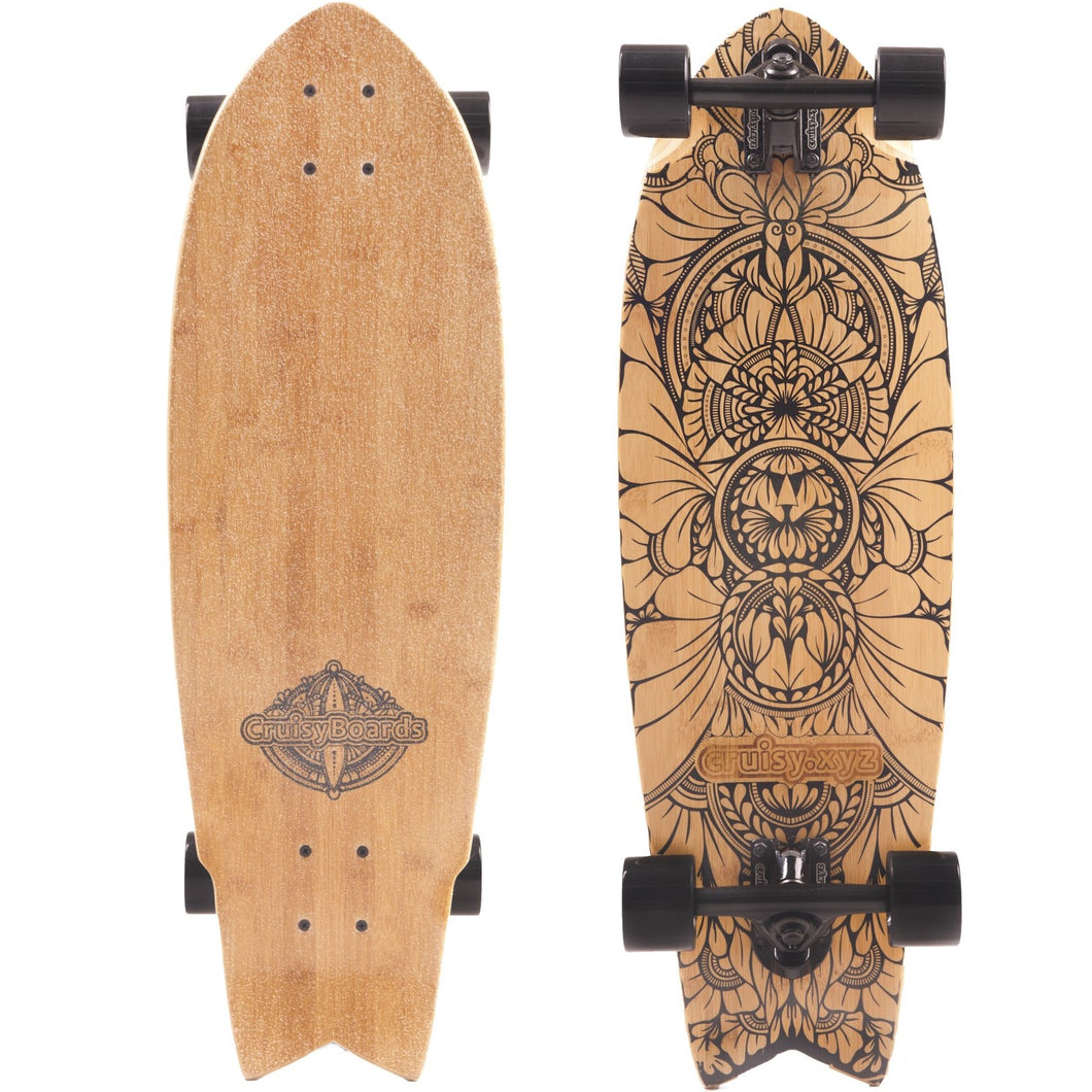 The Fish Board - Cruisy Boards | cruisy.xyz (longboard cruiser skateboard)