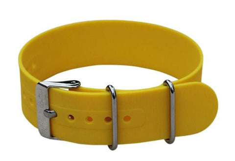 Silicone NATO - yellow