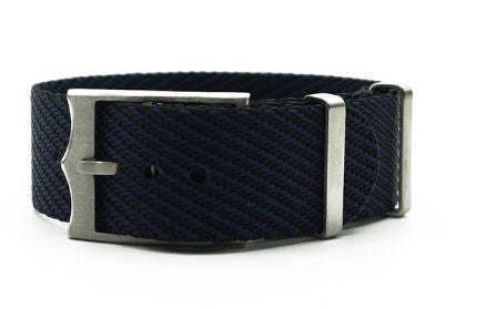 Single Pass 'Tudor style' - Black and Blue