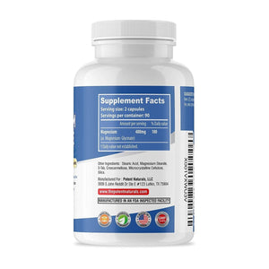 MAGNESIUM Glycinate 400mg Tablets
