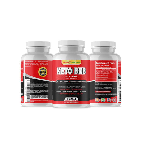 KETO BHB Ketogenic Rapid Fat Burner - Potent Naturals