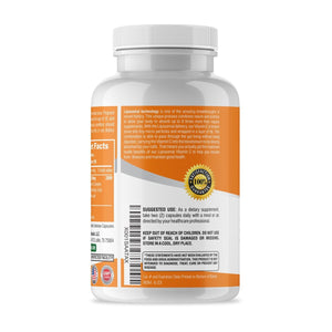 LIPOSOMAL Vitamin C High-Absorption 1200mg/180 Veggie Capsules