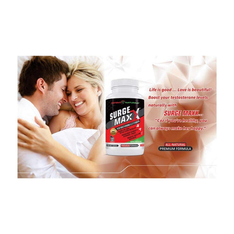 SURGE MAXX Best Natural Testosterone Booster (Premium)