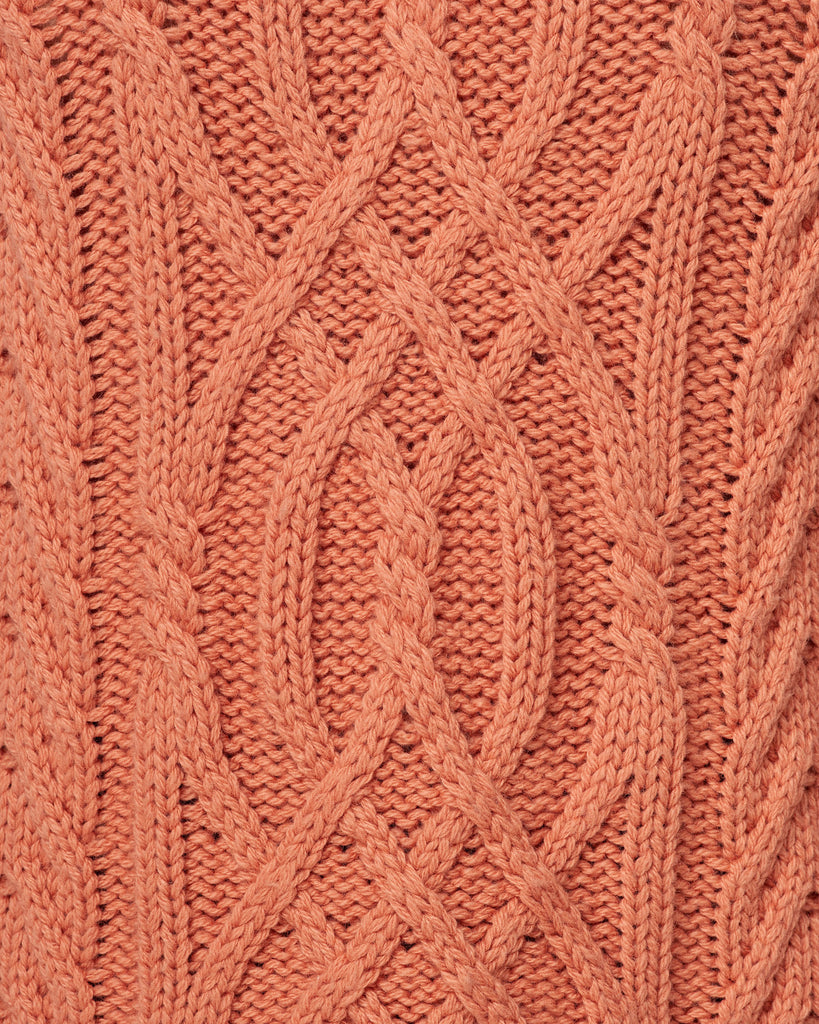 Arabesque Bracken Cable Roll Neck