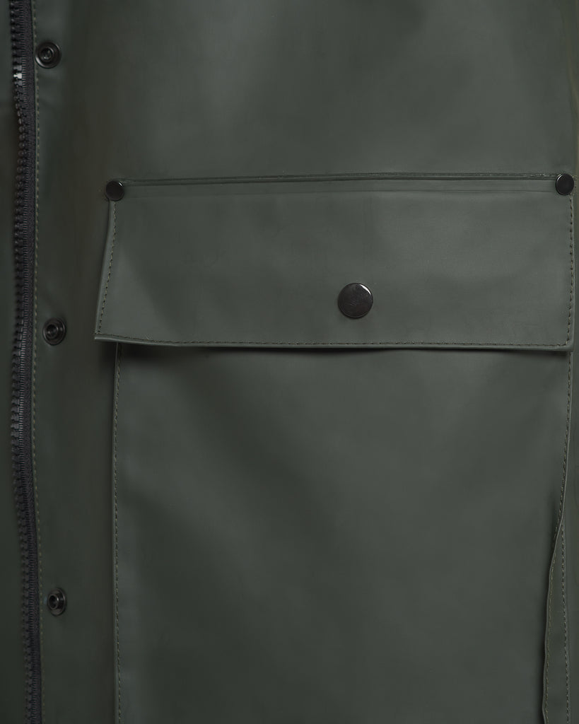 Hunter Green Raincoat
