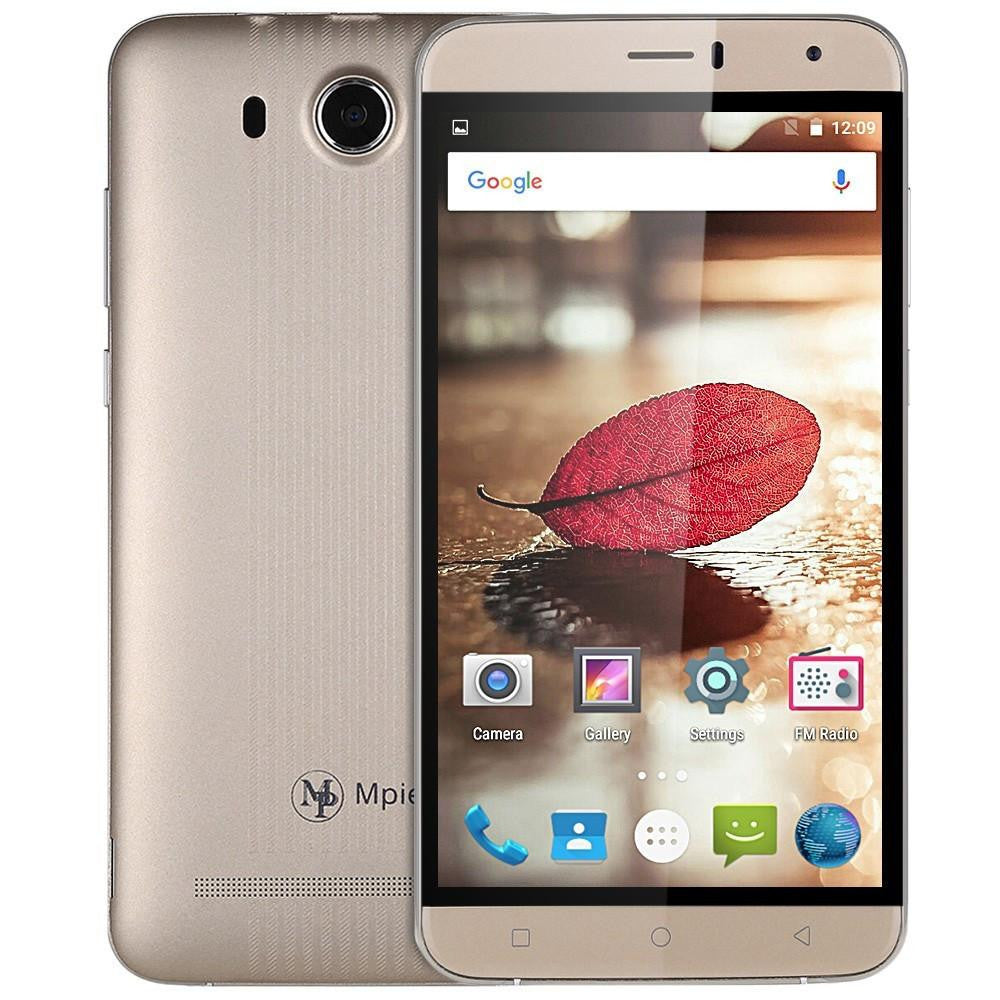 Original Mpie S15 3G Mobile Phone 6.0 inch Android 5.1 MTK6580 Quad Core Smartphone 1.3GHz 512MB RAM 8GB ROM 5.0MP Cellphone