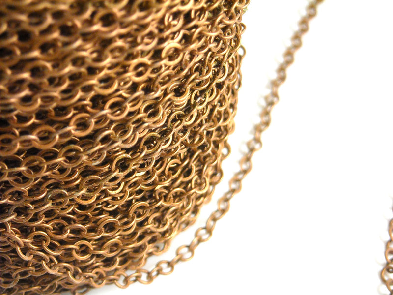 10-Feet 2mm x 2mm Gold Plated Chain