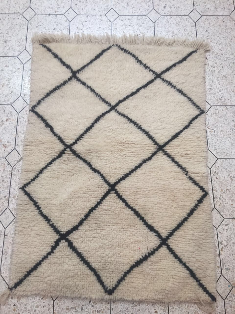 Small Beni Ouarain carpet