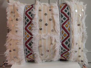 Berber Handira (wedding blanket) cushion
