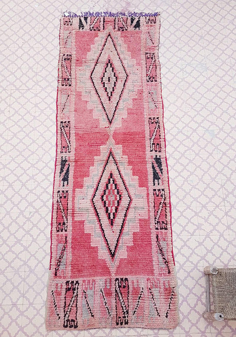 Deliciously Faded Vintage Boujaad Runner