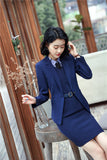 Professional Uniform Styles Spring Fall Elegant Blazers Suits With Jackets And Dress Creationsg