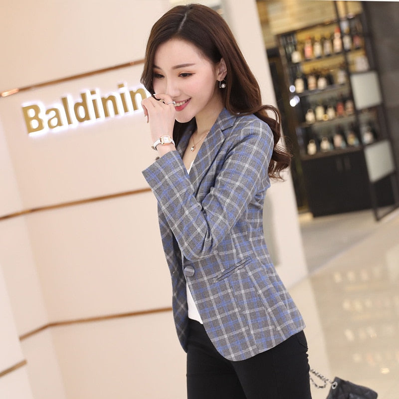 Spring Autumn Korean Long Sleeve Women Leisure Suits Tops Creationsg