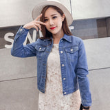 creationsg - 2019 Fashion Jeans Jacket Women Spring 2XL XL Long Sleeve Stretch Short