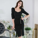 New Designer Summer Elegant Dress For Women Bodycon Office Dress Creationsg