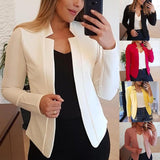 New Women Blazers Thin Long Sleeve Blazer Autumn Coats Creationsg