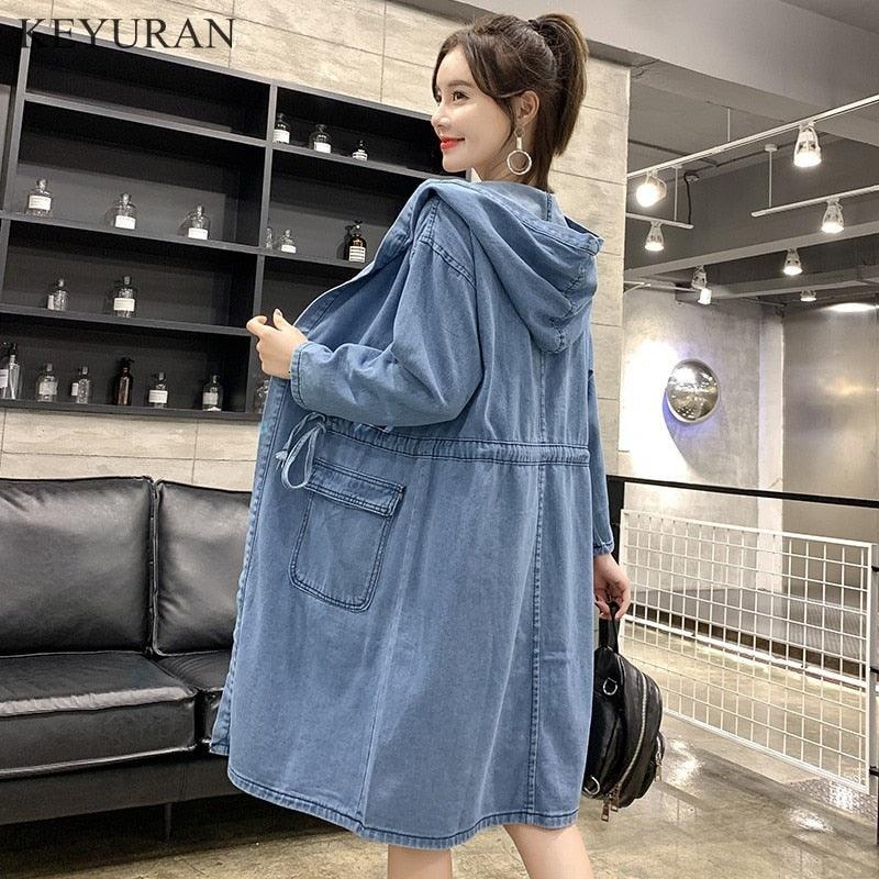 2019 Spring Women Jeans Outwear Casual Denim Creationsg