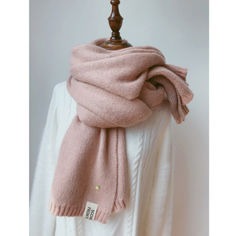 Solid Cashmere Scarves Lady Long Scarf Creationsg
