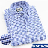 New Arrival Summer Men Shirt 100% Cotton Short Sleeved Formal Business Creationsg