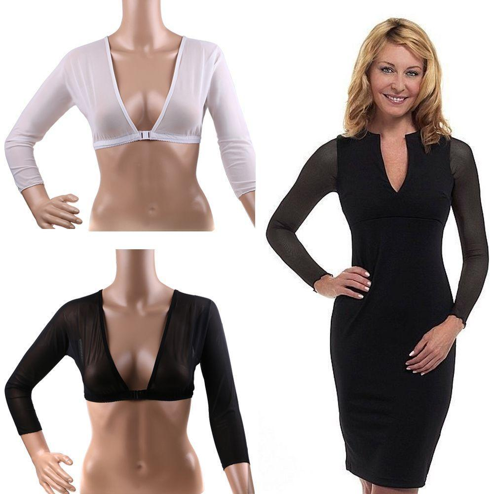 Amazing Arm Sleeve Shapewear Sexy Crop Tops Slimming Trainer Body Shaper Creationsg