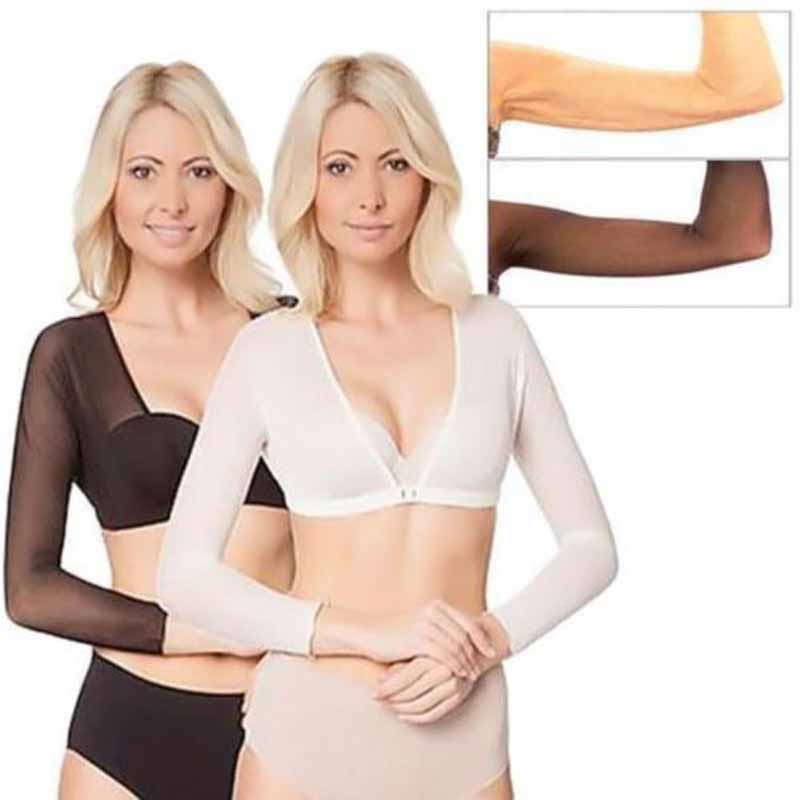 Sleeve Shapewear Sexy Crop Tops Slimming Control Seamless Arm Shapewear Creationsg