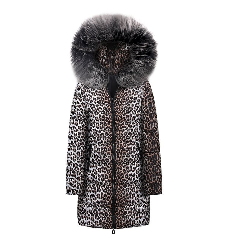 creationsg - Casual Cotton Winter Fur Jackets Plus Size Women Coat 2019