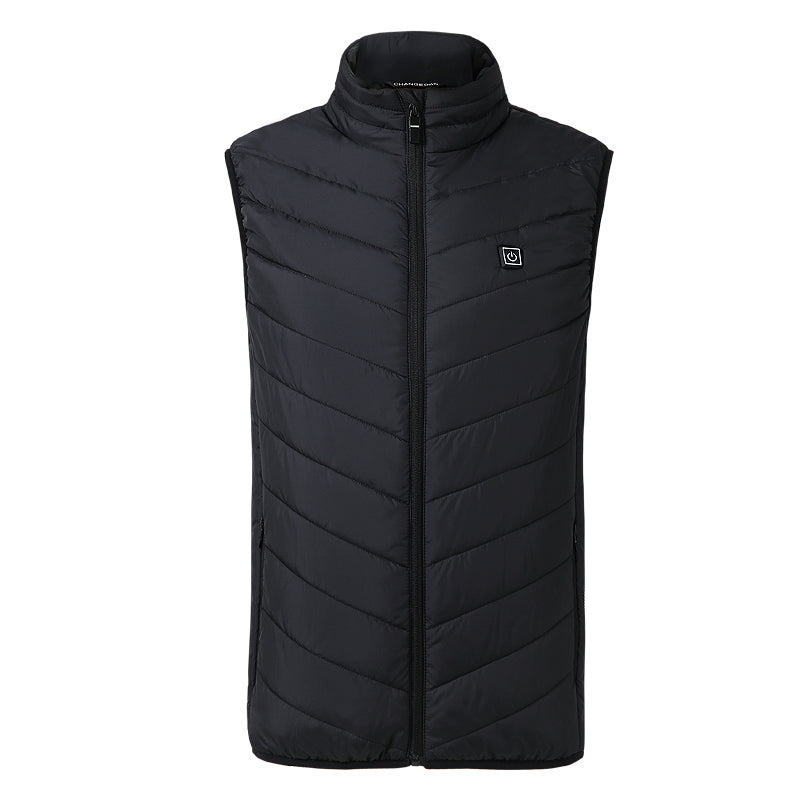 Electric Heated Vest Men Women Heating Waistcoat Thermal Warm Clothing Heated Jacket Creationsg