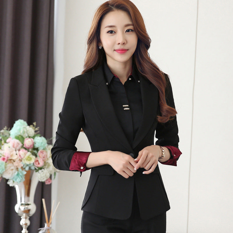 Elegant Formal pant suit Women's Suit Pants and Jacket office Lady Creationsg