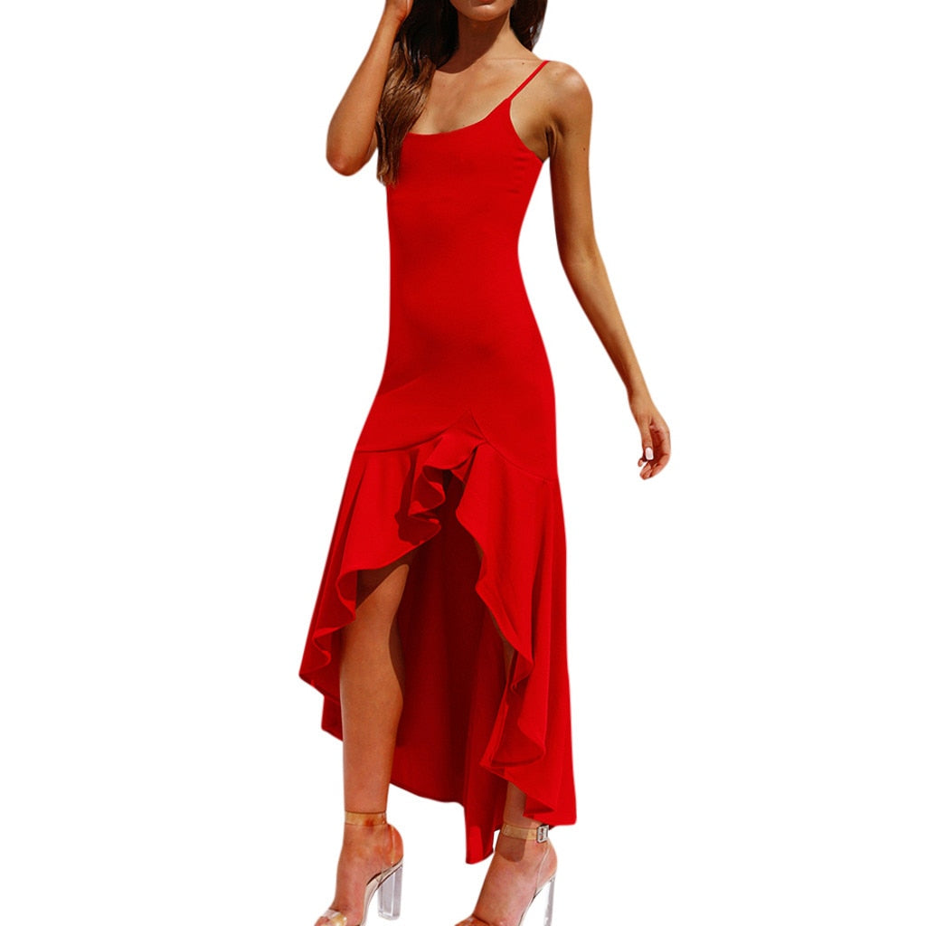Fashion Women Sexy Sleeveless Maxi Long Evning Party Dresses Creationsg
