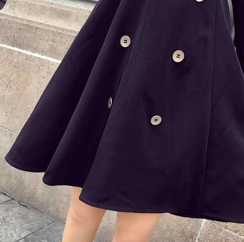 creationsg - Elegant 2019 New Fashion Womens Dress Suits Streetwear Long Double Breasted Coats