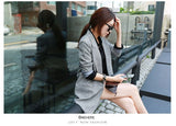 Hot Selling Spring Women Casual Long Thin Blazers Coats Creationsg