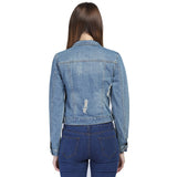 Brand 4XL 5XL 6XL Plus Size Denim Vintage Jacket Women 2018 Creationsg
