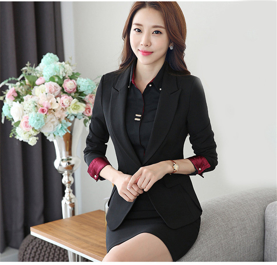 creationsg - Elegant Formal pant suit Women's Suit Pants and Jacket office Lady