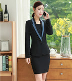 Spring Autumn Formal Uniform Designs Business Suits With Jackets And Dress Creationsg